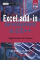 Excel Add-in Development in C / C++: Applications in Finance (0470024704) cover image