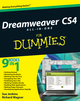 Dreamweaver CS4 All-in-One For Dummies (0470391804) cover image