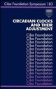 Circadian Clocks and Their Adjustment (0470514604) cover image