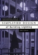 Simplified Design of Building Lighting (0471192104) cover image
