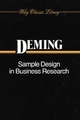 Sample Design in Business Research (0471523704) cover image