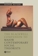 The Blackwell Companion to Major Social Theorists (0631207104) cover image