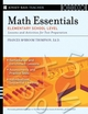 Math Essentials, Elementary School Level: Lessons and Activities for Test Preparation, Grades 3-5 (0787988804) cover image