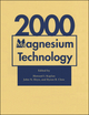 Magnesium Technology 2000 (1118808304) cover image