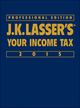 J.K. Lasser's Your Income Tax 2015, Professional Edition (1118924304) cover image