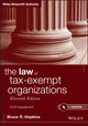 The Law of Tax-Exempt Organizations + Website, Eleventh Edition, 2016 Supplement (1119238404) cover image