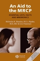 An Aid to the MRCP: Essential Lists, Facts and Mnemonics (1405176504) cover image