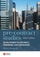 Pre-contract Studies: Development Economics, Tendering and Estimating, 3rd Edition (1405177004) cover image