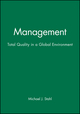 Management: Total Quality in a Global Environment (1557866104) cover image