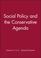 Social Policy and the Conservative Agenda (1577181204) cover image
