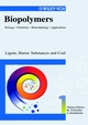 Biopolymers, Volume 1, Lignin, Humic Substances and Coal (3527302204) cover image