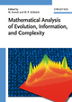 Mathematical Analysis of Evolution, Information, and Complexity (3527408304) cover image