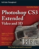 Photoshop CS3 Extended Video and 3D Bible  (0470377305) cover image