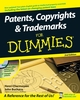 Patents, Copyrights & Trademarks For Dummies, 2nd Edition (0470507705) cover image