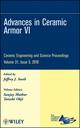 Advances in Ceramic Armor VI, Volume 31, Issue 5 (0470594705) cover image