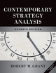 Contemporary Strategy Analysis and Cases: Text and Cases, 7th Edition (0470735805) cover image
