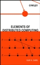 Elements of Distributed Computing (0471036005) cover image