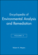 Encyclopedia of Environmental Analysis and Remediation, Volume 3 (0471166405) cover image