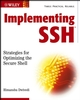 Implementing SSH®: Strategies for Optimizing the Secure Shell  (0471458805) cover image