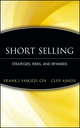 Short Selling: Strategies, Risks, and Rewards (0471660205) cover image