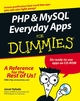 PHP and MySQL Everyday Apps For Dummies (0471753505) cover image
