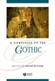 A Companion to the Gothic (0631206205) cover image