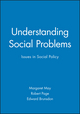 Understanding Social Problems: Issues in Social Policy (0631220305) cover image