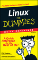 Linux For Dummies Quick Reference, 3rd Edition (0764507605) cover image
