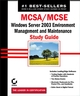 MCSA / MCSE: Windows Server 2003 Environment Management and Maintenance Study Guide: Exam 70-290 (0782142605) cover image