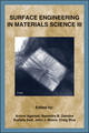 Surface Engineering in Materials Science III (0873395905) cover image