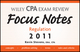 Wiley CPA Examination Review Focus Notes: Regulation 2011 (1118034805) cover image