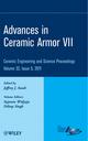 Advances in Ceramic Armor VII, Volume 32, Issue 5 (1118059905) cover image