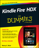 Kindle Fire HDX For Dummies (1118775805) cover image