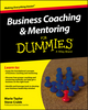 Business Coaching and Mentoring For Dummies (1119067405) cover image