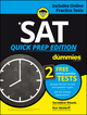SAT Quick Prep For Dummies with Online Practice, 2016 Target Edition (1119280605) cover image