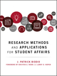 Research Methods and Applications for Student Affairs (1119299705) cover image