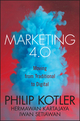 Marketing 4.0: Moving from Traditional to Digital (1119341205) cover image