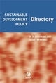 Sustainable Development Policy Directory (1405121505) cover image