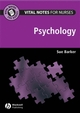 Vital Notes for Nurses: Psychology (1405155205) cover image
