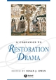 A Companion to Restoration Drama (1405176105) cover image
