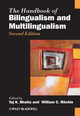 The Handbook of Bilingualism and Multilingualism, 2nd Edition (1444334905) cover image