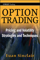 Option Trading: Pricing and Volatility Strategies and Techniques (0470497106) cover image