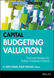 Capital Budgeting Valuation: Financial Analysis for Today's Investment Projects (0470569506) cover image