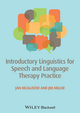Introductory Linguistics for Speech and Language Therapy Practice (0470671106) cover image