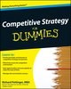 Competitive Strategy For Dummies (0470779306) cover image