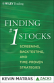 Finding #1 Stocks: Screening, Backtesting and Time-Proven Strategies (0470903406) cover image
