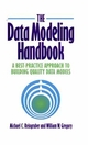 The Data Modeling Handbook: A Best-Practice Approach to Building Quality Data Models (0471052906) cover image