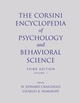 The Corsini Encyclopedia of Psychology and Behavioral Science, Volume 1, 3rd Edition (0471270806) cover image