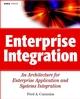 Enterprise Integration: An Architecture for Enterprise Application and Systems Integration (0471400106) cover image