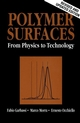 Polymer Surfaces: From Physics to Technology, Revised and Updated Edition (0471971006) cover image